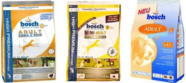 Bosch for dogs