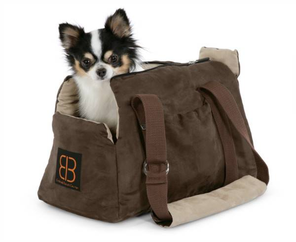 Bag for dogs on the shoulder